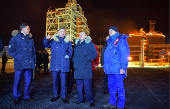 Russia, China, France, Saudi Arabia building second $20 billion LNG terminal in Arctic